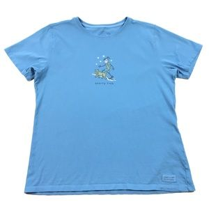 Life is Good Relaxed Fit Starry Trek T-Shirt